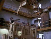 Orgelgehäuseschreinerei, Zusammenbau der Gehäuseteile