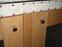 Badezimmer: Waschtisch - Detailaufnahme